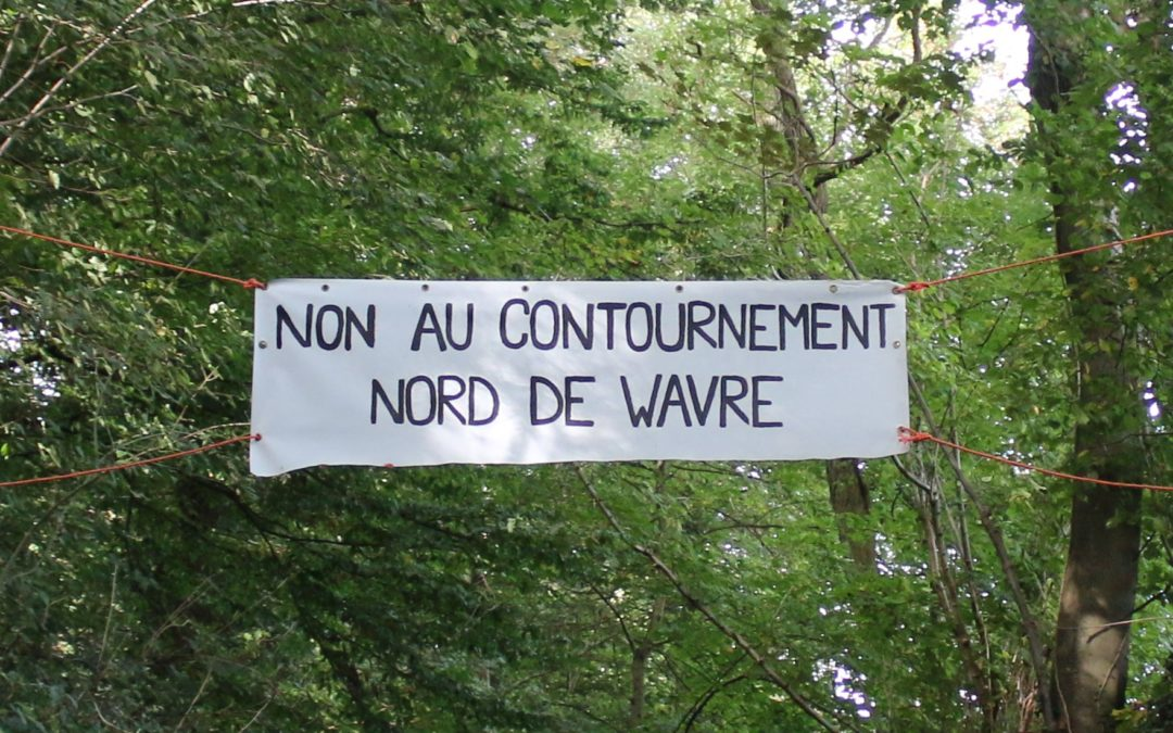 Contournement routier Nord de Wavre :